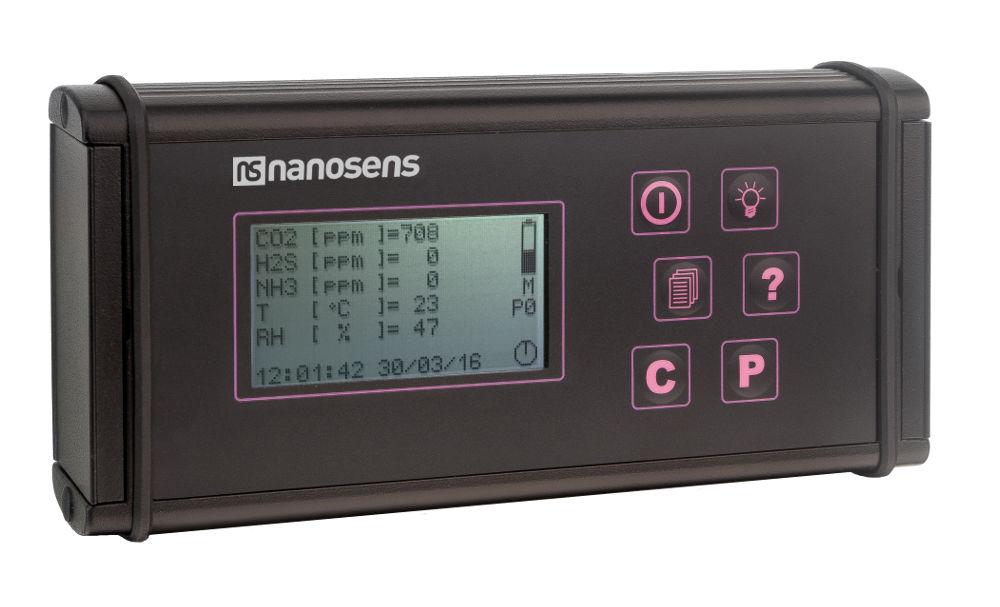 Miernik gazów i mikroklimatu DP-24-VET