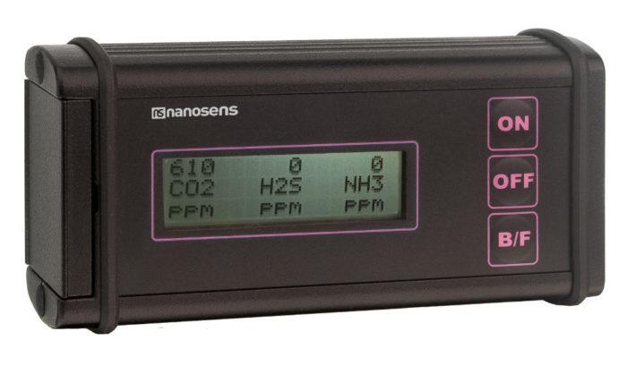 Miernik gazów i mikroklimatu DP-25 VET