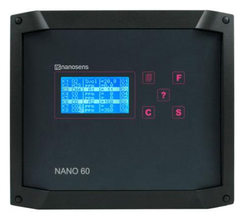 NANO60 centalka stacjonarny system pomiarowy gazów