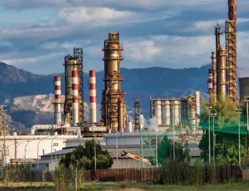 Typowe obszary wymagające wykrywania gazów